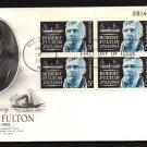 ART CRAFT - 1965 Robert Fulton Bicentennial (#1270) FDC - PB UA