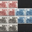 VATICAN - 1964 Red Cross (#392-4) - MNH Blocks of 4