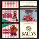 LAS VEGAS CASINO/HOTELs - Las Vegas, Nevada - 4 Different Matchbook Covers