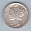 1941-S Mercury Dime (U.S. Coin - 90% Silver) - Circulated