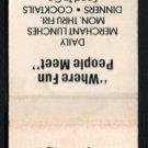 JACK'S STEAK HOUSE - Morgan Hill, California - 1980s Vintage Matchbook Cover