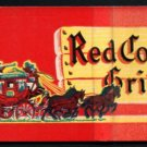 RED COACH GRILL Restaurants - Massachusetts, Connecticut, etc. - 1960s (?) Vintage Matchbook Cover