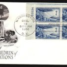 ART CRAFT - 1956 Childrens Friendship (#1085) FDC - PB UA