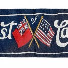 """Guest of Canada"" - Vintage Felt Panel or Pennant - 1950s (?) or earlier"