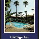 1980s VAN NUYS, CALIFORNIA - Carriage Inn - Unused Postcard