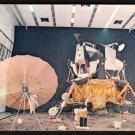 1980s(?) KENNEDY SPACE CENTER, FLORIDA - Lunar Surface Diorama - Unused Postcard