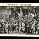 CHOCOLAT BESNIER (Le Mans, France) Victorian Trade Card - CYRANO de BERGERAC