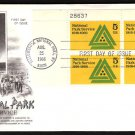 ART CRAFT - 1966 National Park Service (#1314) FDC - PB UA