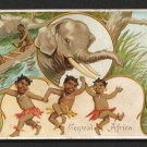 1893 Victorian Trade Card - Arbuckle Brothers Coffee Company - CENTRAL AFRICA (#31)