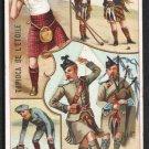 TAPIOCA DE L'ETOILE Victorian Trade Card - Scotland / Ecosse - Sports & Pastimes