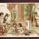 1893 Victorian Trade Card - Arbuckle Brothers Coffee Company - POMPEII (#42)