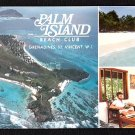 1980s PALM ISLAND BEACH CLUB, Grenadines, St. Vincent, West Indies - Unused Postcard