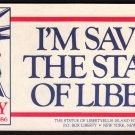 STATUE OF LIBERTY Centennial - 1986 Bumper Sticker