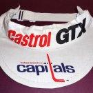 1970s/80s WASHINGTON CAPITALS Promotional Visor - Castrol GTX