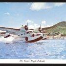"1977 ANTILLES AIRBOATS - ""THE GOOSE"" - Virgin Islands - Unused Curteich Postcard"