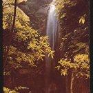 GREAT ALPS WATERFALL - Montserrat, West Indies - 1980s International Post Card