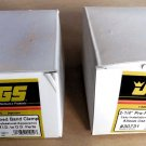 """Pair of 2¼"""" Muffler/Exhaust Clamps - JEGS #30731"""