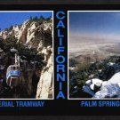 AERIAL TRAMWAY, Palm Springs, California - 1980s Scenic Postcard - Unused