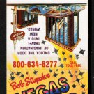 VEGAS WORLD Hotel Casino - Las Vegas, Nevada - 1980s Matchbook Cover