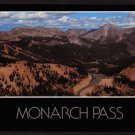 1980s MONARCH PASS, COLORADO Scenic Post Card - Unused