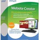 NEW! Intuit Website Creator 2009