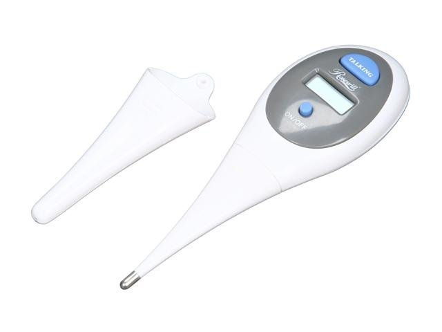 NEW in the Box! Digital Talking Body Thermometer with Auto Switch Off and Battery Operation-8840
