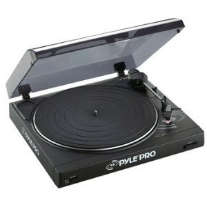 USED-RE-PACKED!!Pyle-Pro PLTTB2U VG Cond. Professional Belt Drive Turntable with USB Interface
