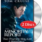 USED! Minority Report (Widescreen Two-DVD Disc Special Edition) starring Tom Cruise!