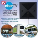 NEW! Clear TV HD Digital Antenna - Genuine As Seen on TV - No More Cable Bills!