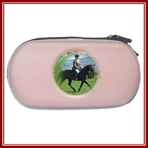 Personalised MP3 PSP Carry Case Pink