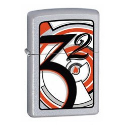 Zippo Lighter 21010 Deco 1932 Chrome 2006
