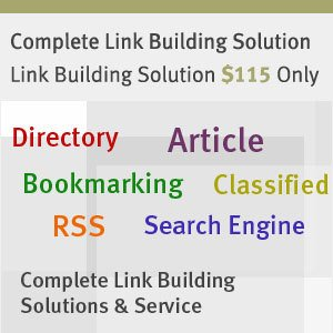 Link Building Solution - Complete SEO Service Package@$97.75-15% OFF