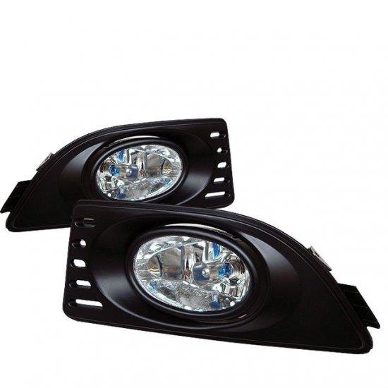 Spyder: 2006 Acura RSX Fog Lights (Clear)