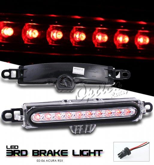 Option: 02-04 Acura RSX LED 3rd Brake Light (Chrome)