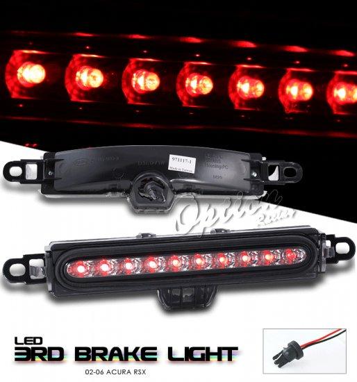 Option: 02-04 Acura RSX LED 3rd Brake Light (Smoked)