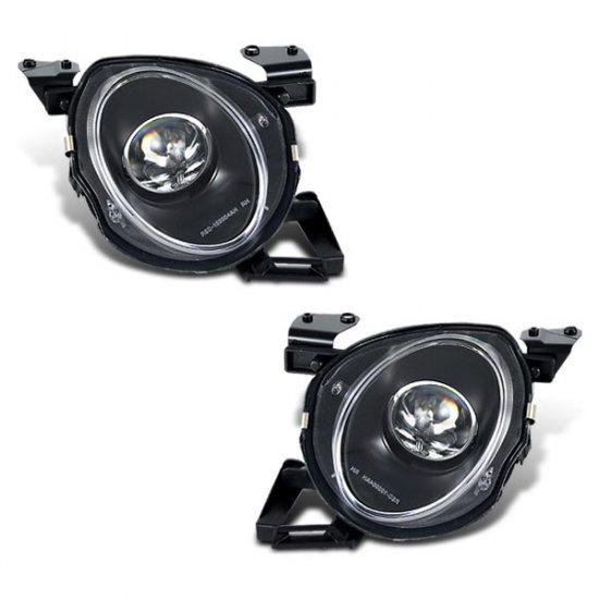 91-00 Lexus SC300 SC400 // Projector Headlights, High (Black)