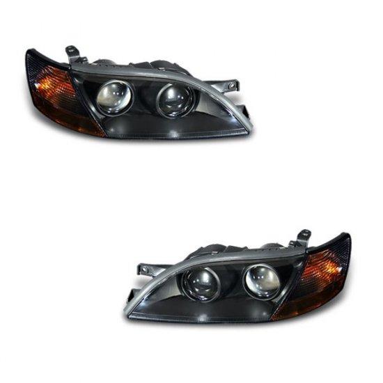 92-96 Lexus ES300 Projector Headlights (Black)