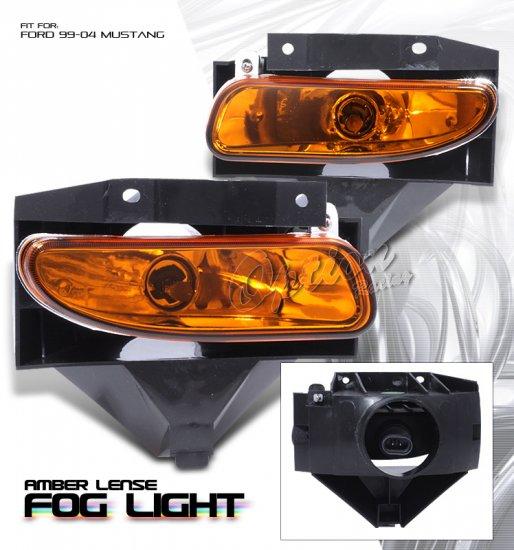 99-04 Ford Mustang GT, Fog Lights (Amber)