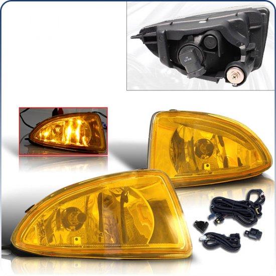 04-05 Honda Civic, Fog Lights (Yellow)