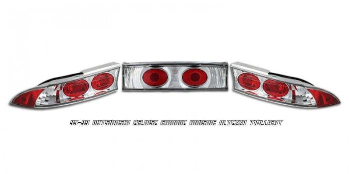 95-99 Mitsubishi Eclipse, Altezza Tail Lights, Chrome