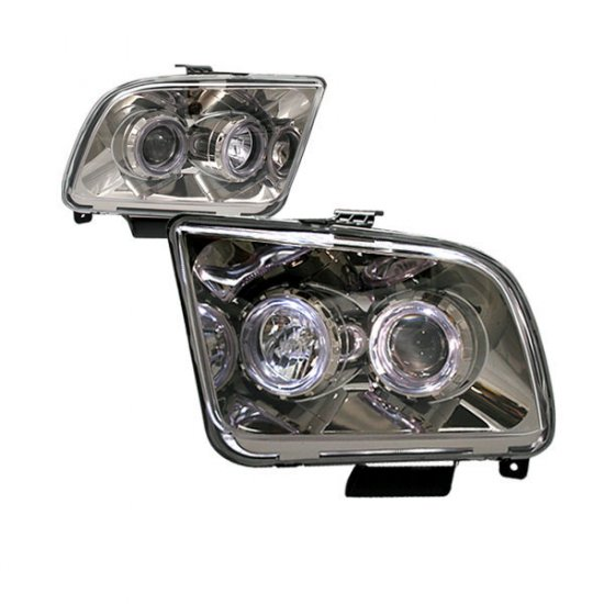 05-09 Ford Mustang, Projector Headlights, Titanium
