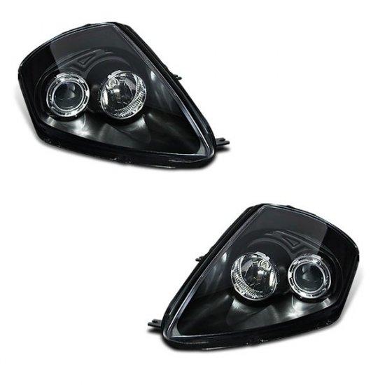 00-05 Mitsubishi Eclipse Projector Headlights (Black)