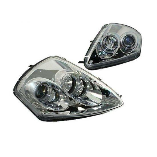 00-05 Mitsubishi Eclipse Projector Headlights (Chrome)
