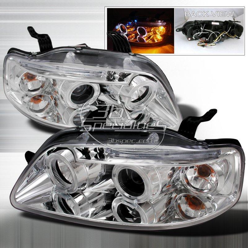 Spec-D: 04-08 Chevy Aveo 5Dr, Projector Headlights, Chrome