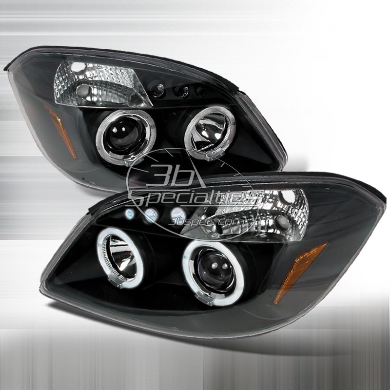 Spec-D: 05-10 Chevy Cobalt; Projector Headlights, Black