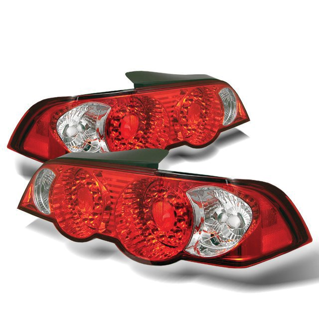 Spyder: 02-04 Acura RSX, LED Tail Lights, Red