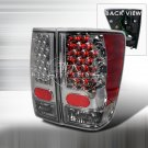 Spec-D: 04-11 Nissan Titan, LED Tail Lights, Smoked