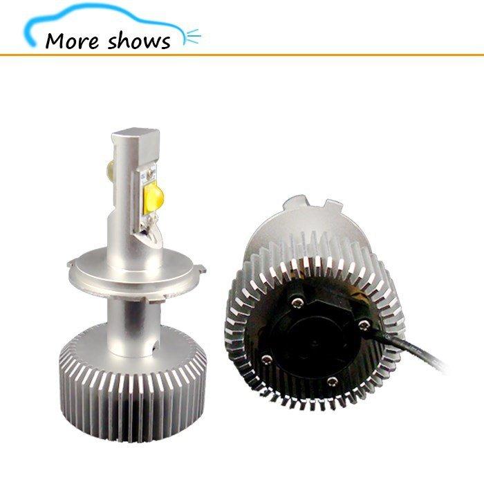 H4 70w 6400LM LED Headlight Kit
