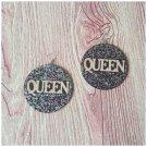 Kora Queen Colorful Glitter Earrings