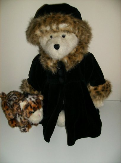 Boyds Lady Bear and her pet Ltd Edition